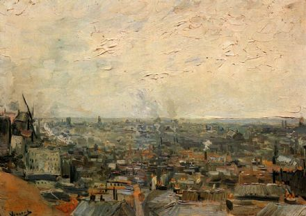 Van Gogh, Vincent: View Of Paris From Montmartre. Fine Art Print/Poster. Sizes: A4/A3/A2/A1 (001774)